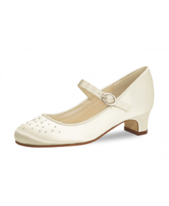 Verity Ivory Satin