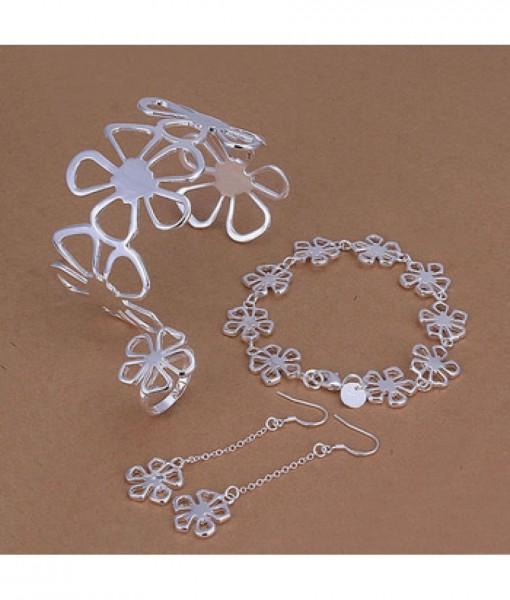 bloemen oorbellen1